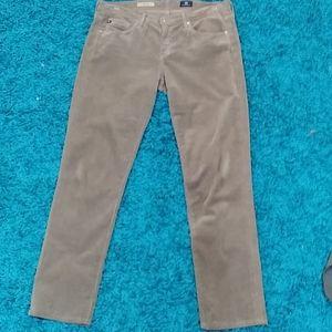 AG Adriano Goldschmied corduroy jeans